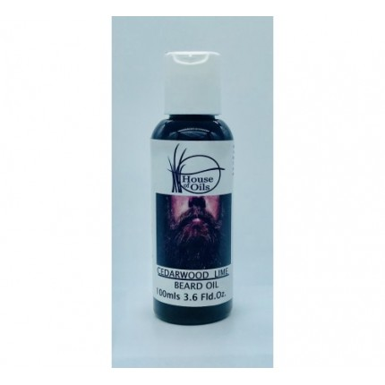 100ml Beard Essential Oil-Cedarwood & Lime