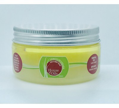 100ml-Exfoliating Face & Body Sugar Polish-Lemon Ironbark